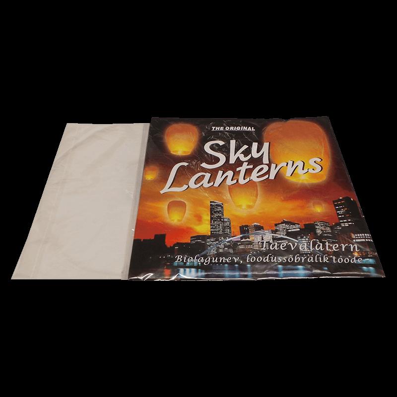 Taevalatern - Ilutulestiku toode mis lendab kaugele taevasse