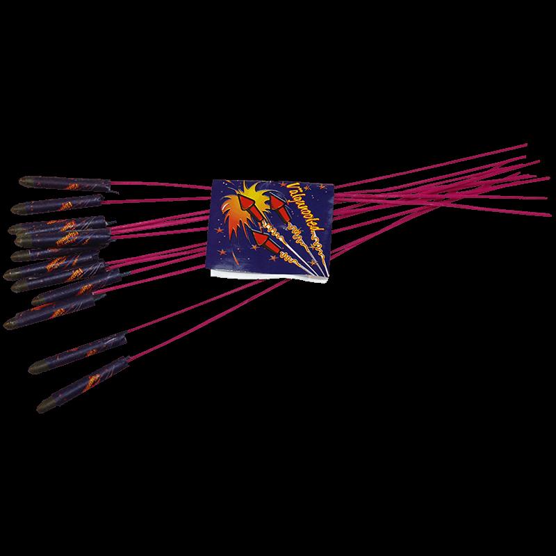 Ilutulestiku raketid raketikomplekt välgunooled
