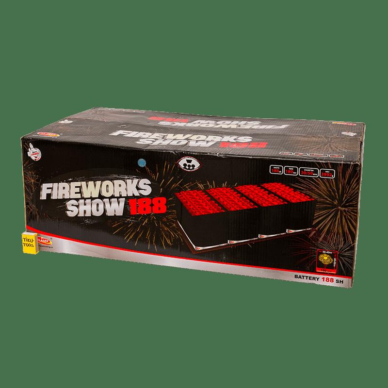 Suur ilutulestiku patarei fireworks show 188