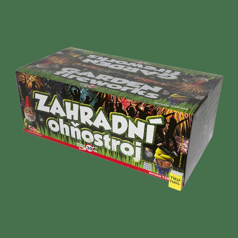 Suur ilutulestiku patarei Garden Fireworks 128