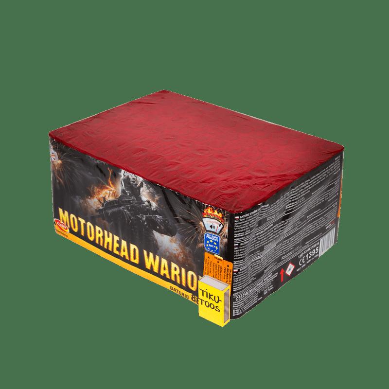 Suur ilutulestiku patarei Motorhead warriror