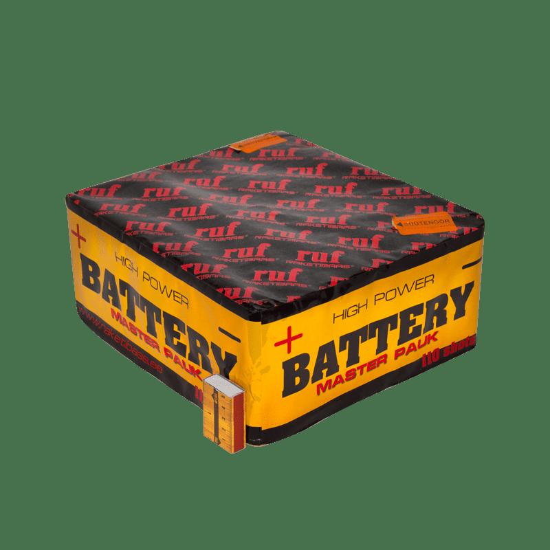 Suur ilutulestiku patarei battery